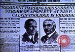 Image of Cal Coolidge becomes President. Roaring Twenties in U.S. Hyperinflatio United States USA, 1923, second 36 stock footage video 65675032137