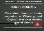 Image of dancers perform Berlin Germany, 1930, second 2 stock footage video 65675032149