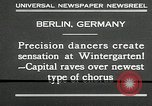 Image of dancers perform Berlin Germany, 1930, second 4 stock footage video 65675032149