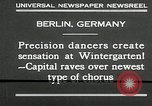 Image of dancers perform Berlin Germany, 1930, second 6 stock footage video 65675032149