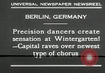 Image of dancers perform Berlin Germany, 1930, second 10 stock footage video 65675032149