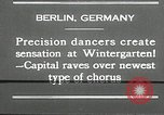 Image of dancers perform Berlin Germany, 1930, second 11 stock footage video 65675032149