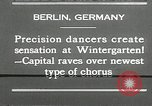 Image of dancers perform Berlin Germany, 1930, second 13 stock footage video 65675032149