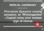 Image of dancers perform Berlin Germany, 1930, second 14 stock footage video 65675032149