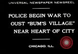 Image of Chicago homeless settlement in Great Depression Chicago Illinois USA, 1930, second 1 stock footage video 65675032156