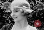 Image of blond girl New York United States USA, 1930, second 60 stock footage video 65675032161