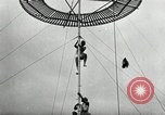 Image of air stunts Colwyn Bay United Kingdom, 1930, second 15 stock footage video 65675032162