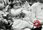 Image of oriental baby show Portland Oregon USA, 1930, second 37 stock footage video 65675032164