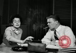 Image of sexual harassment in the workplace United States USA, 1950, second 9 stock footage video 65675032176