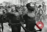 Image of ceremonial dance Africa, 1950, second 4 stock footage video 65675032183