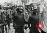 Image of ceremonial dance Africa, 1950, second 5 stock footage video 65675032183