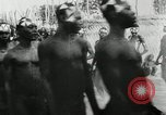 Image of ceremonial dance Africa, 1950, second 10 stock footage video 65675032183