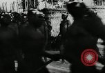 Image of ceremonial dance Africa, 1950, second 13 stock footage video 65675032183