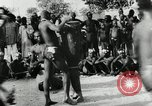 Image of ceremonial dance Africa, 1950, second 15 stock footage video 65675032183