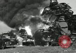 Image of bonfire of cars United States USA, 1939, second 36 stock footage video 65675032191