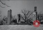 Image of Vacant and damaged Civil War plantation homes United States USA, 1937, second 60 stock footage video 65675032220