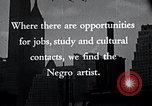Image of African American artists United States USA, 1937, second 22 stock footage video 65675032247