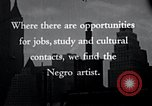 Image of African American artists United States USA, 1937, second 23 stock footage video 65675032247