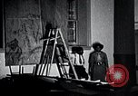 Image of Aaron Douglas paints Aspects of Negro Life United States USA, 1937, second 30 stock footage video 65675032260
