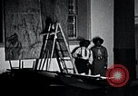 Image of Aaron Douglas paints Aspects of Negro Life United States USA, 1937, second 31 stock footage video 65675032260