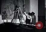 Image of Aaron Douglas paints Aspects of Negro Life United States USA, 1937, second 32 stock footage video 65675032260