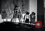 Image of Aaron Douglas paints Aspects of Negro Life United States USA, 1937, second 33 stock footage video 65675032260