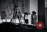 Image of Aaron Douglas paints Aspects of Negro Life United States USA, 1937, second 35 stock footage video 65675032260