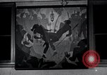 Image of Aaron Douglas paints Aspects of Negro Life United States USA, 1937, second 38 stock footage video 65675032260