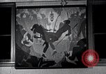 Image of Aaron Douglas paints Aspects of Negro Life United States USA, 1937, second 40 stock footage video 65675032260