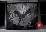 Image of Aaron Douglas paints Aspects of Negro Life United States USA, 1937, second 41 stock footage video 65675032260