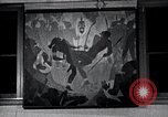 Image of Aaron Douglas paints Aspects of Negro Life United States USA, 1937, second 42 stock footage video 65675032260