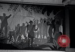 Image of Aaron Douglas paints Aspects of Negro Life United States USA, 1937, second 46 stock footage video 65675032260