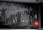 Image of Aaron Douglas paints Aspects of Negro Life United States USA, 1937, second 47 stock footage video 65675032260