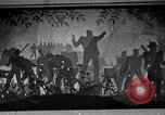 Image of Aaron Douglas paints Aspects of Negro Life United States USA, 1937, second 54 stock footage video 65675032260