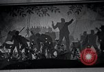 Image of Aaron Douglas paints Aspects of Negro Life United States USA, 1937, second 55 stock footage video 65675032260