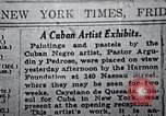 Image of Negro artists New Jersey United States USA, 1937, second 13 stock footage video 65675032266