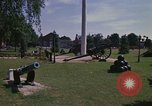 Image of cannons and cannon balls Washington DC USA, 1974, second 8 stock footage video 65675032279