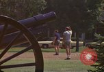 Image of cannons and cannon balls Washington DC USA, 1974, second 9 stock footage video 65675032279