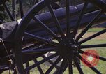 Image of cannons and cannon balls Washington DC USA, 1974, second 16 stock footage video 65675032279