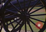 Image of cannons and cannon balls Washington DC USA, 1974, second 20 stock footage video 65675032279