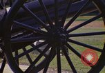 Image of cannons and cannon balls Washington DC USA, 1974, second 22 stock footage video 65675032279