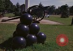 Image of cannons and cannon balls Washington DC USA, 1974, second 24 stock footage video 65675032279