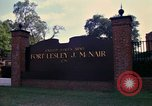 Image of Fort Lesley J McNair Washington DC USA, 1974, second 15 stock footage video 65675032281