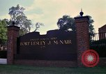Image of Fort Lesley J McNair Washington DC USA, 1974, second 16 stock footage video 65675032281