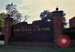 Image of Fort Lesley J McNair Washington DC USA, 1974, second 17 stock footage video 65675032281