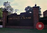 Image of Fort Lesley J McNair Washington DC USA, 1974, second 22 stock footage video 65675032281