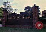 Image of Fort Lesley J McNair Washington DC USA, 1974, second 23 stock footage video 65675032281