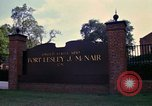 Image of Fort Lesley J McNair Washington DC USA, 1974, second 25 stock footage video 65675032281