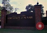 Image of Fort Lesley J McNair Washington DC USA, 1974, second 26 stock footage video 65675032281