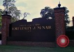 Image of Fort Lesley J McNair Washington DC USA, 1974, second 27 stock footage video 65675032281